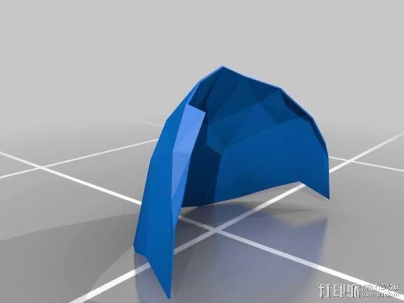 暗黑之魂 骑士头盔 3D模型  图22