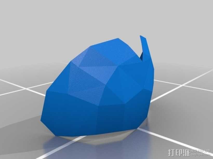 暗黑之魂 骑士头盔 3D模型  图21