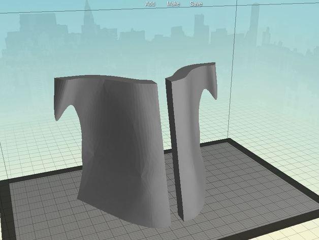《帝国时代》士兵面具 3D模型  图3