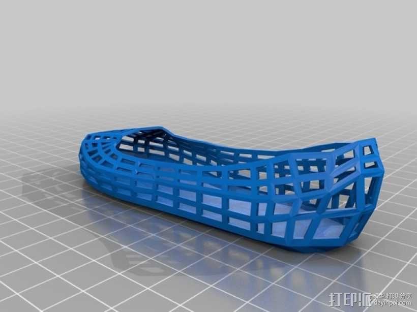 芭蕾平底鞋 3D模型  图2