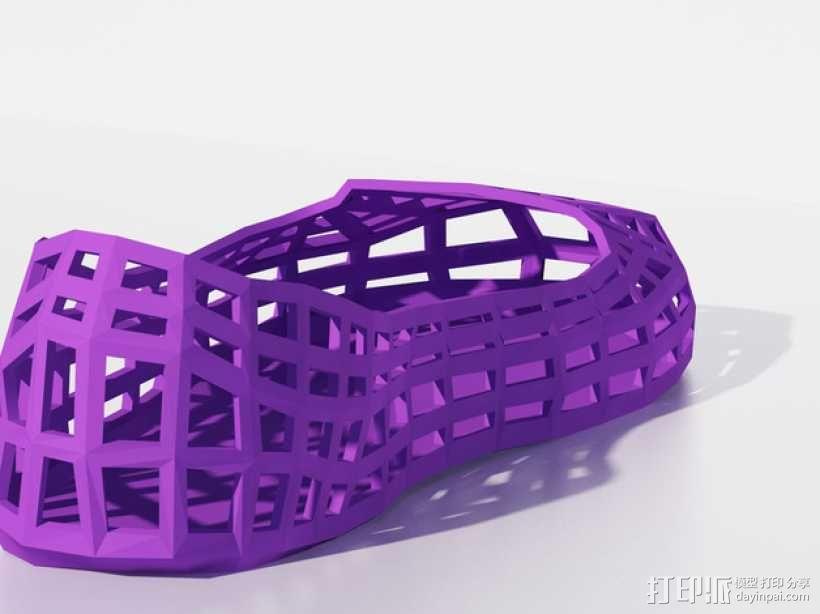 芭蕾平底鞋 3D模型  图3