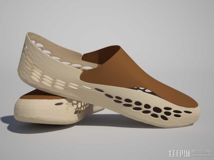 帆船鞋 3D模型  图6