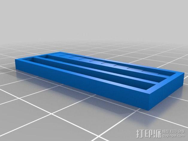 隐雕 钥匙扣 3D模型  图6