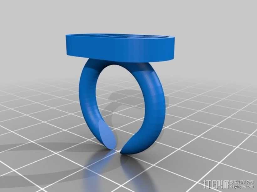 指环 戒指 3D模型  图2