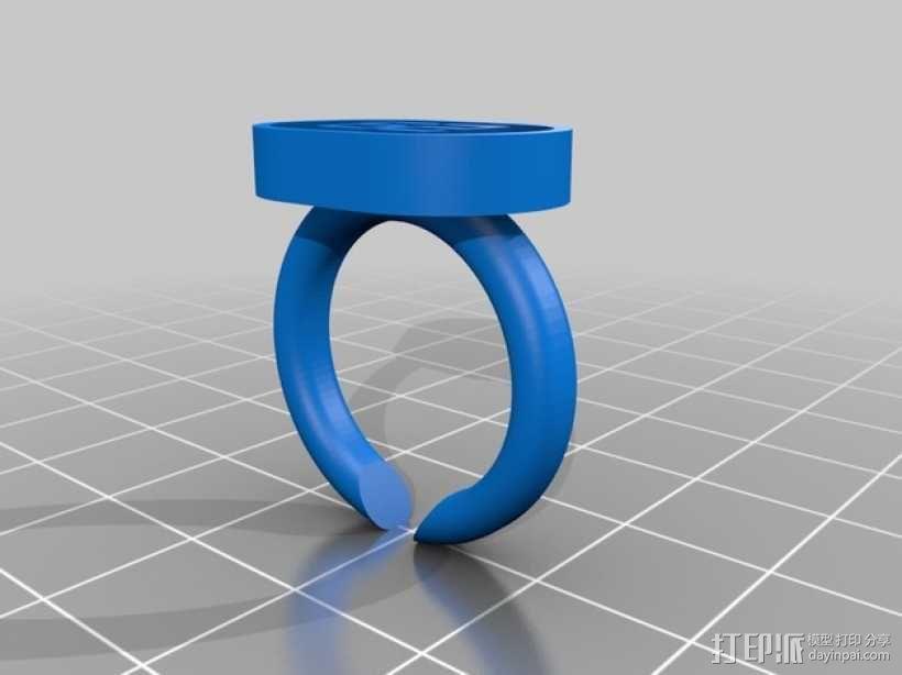 指环 戒指 3D模型  图3