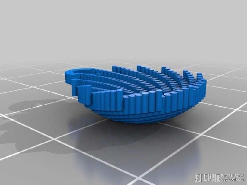 Stephanie 首饰 3D模型  图3