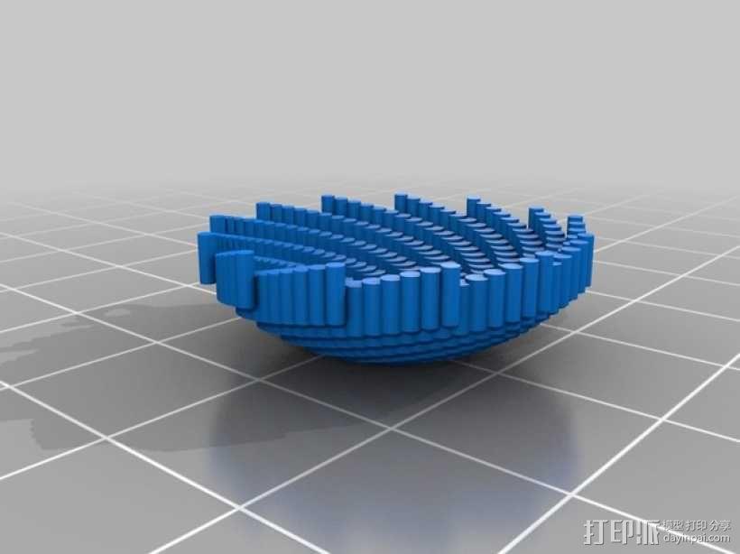 Stephanie 首饰 3D模型  图4