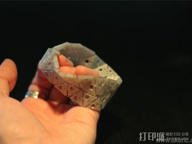 几何运动手镯 3D模型  图5