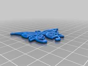 凯尔特蝴蝶 3D模型