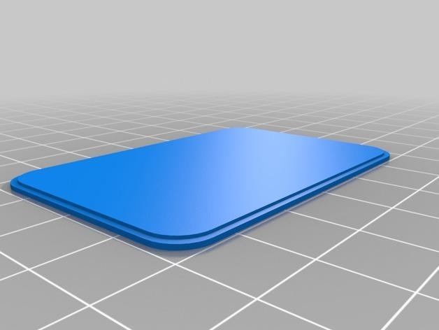 LED发光皮带扣 3D模型  图2