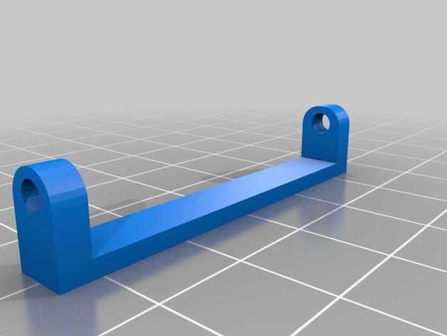 LED发光皮带扣 3D模型  图3