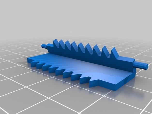 LED发光皮带扣 3D模型  图6