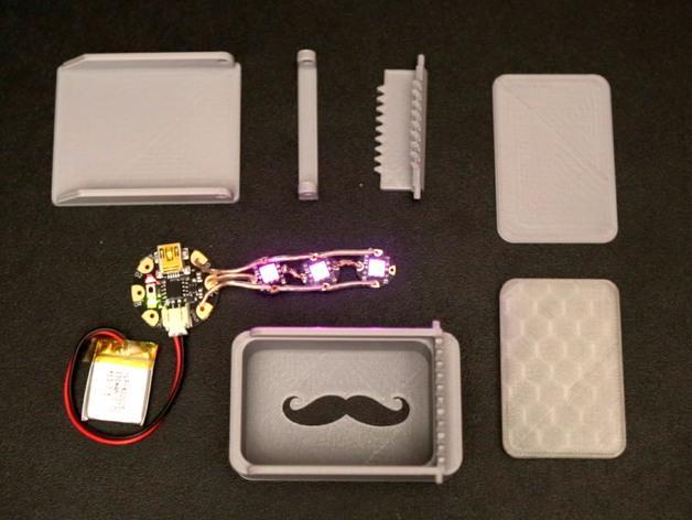 LED发光皮带扣 3D模型  图9