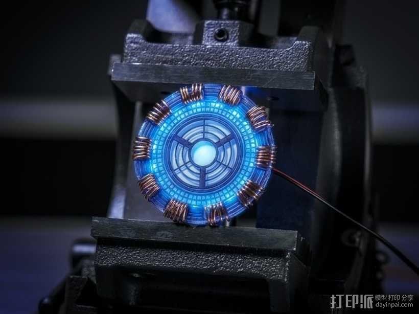 超级英雄 钢铁侠 3D模型  图1