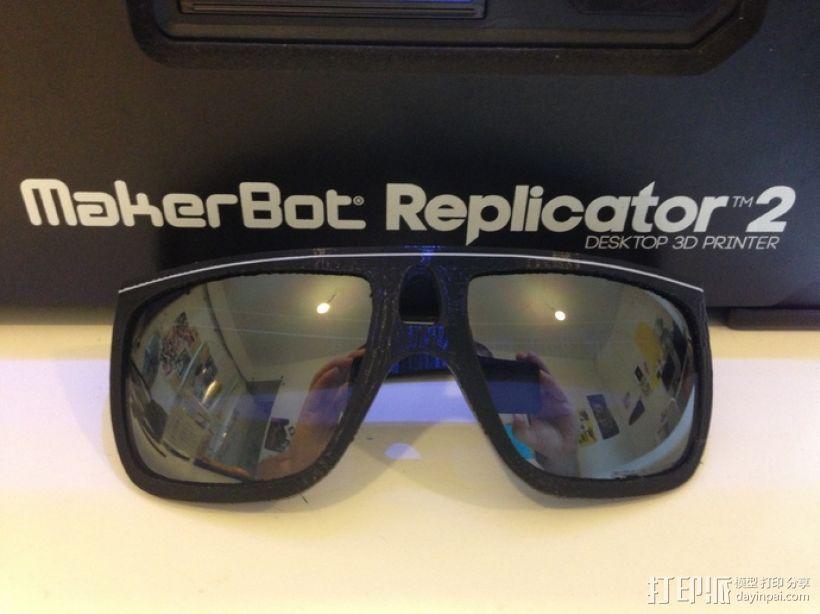 OAKLEY眼镜框 3D模型  图1