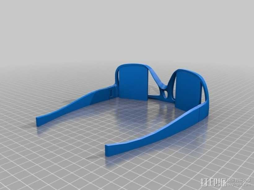 OAKLEY眼镜框 3D模型  图2
