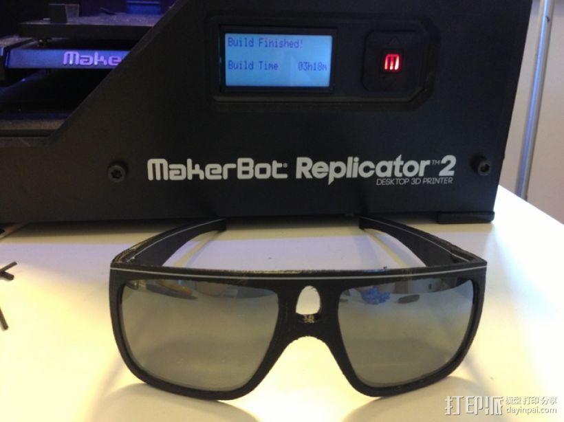OAKLEY眼镜框 3D模型  图3