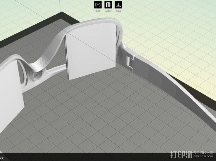 OAKLEY眼镜框 3D模型  图7
