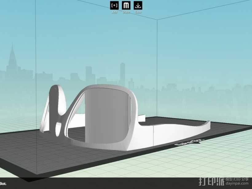 OAKLEY眼镜框 3D模型  图8