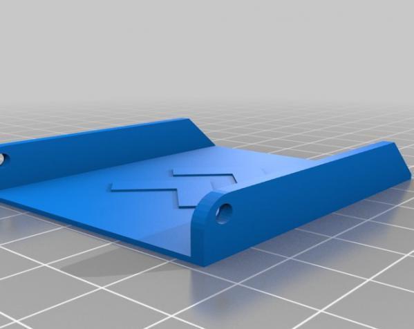 小胡子 皮带搭扣 3D模型  图4