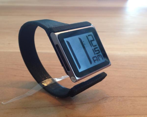 IpodNano手表腕带 3D模型  图2