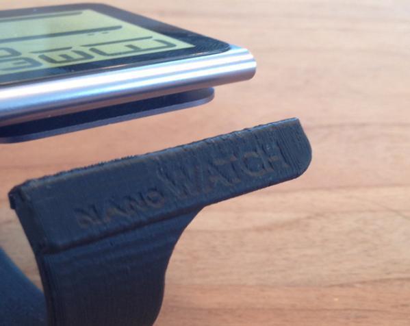 IpodNano手表腕带 3D模型  图3