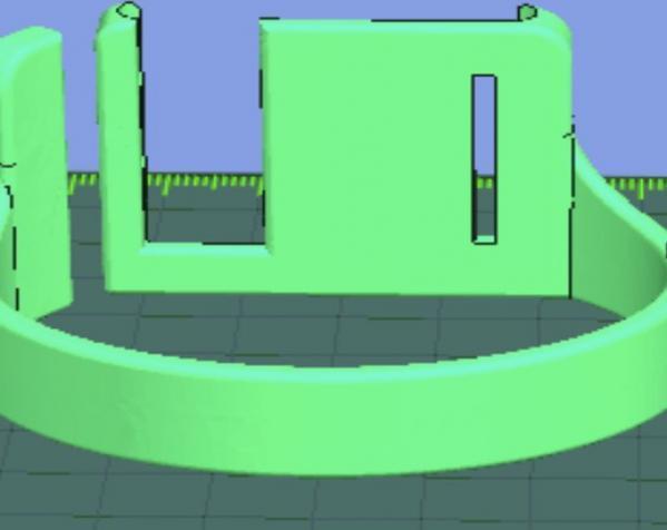 IpodNano手表腕带 3D模型  图5