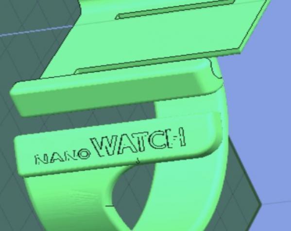 IpodNano手表腕带 3D模型  图7