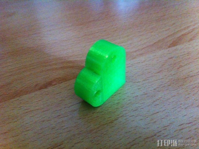 乐高积木 钥匙扣  3D模型  图5