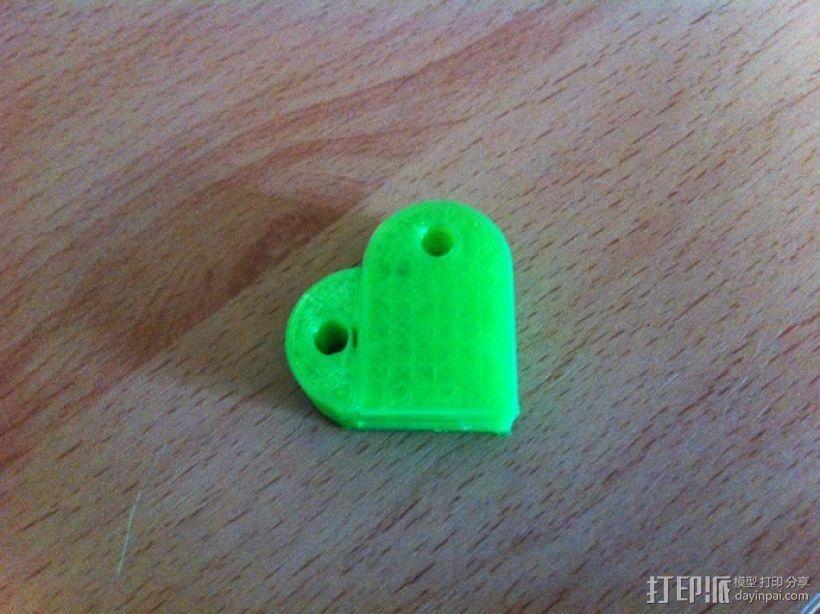 乐高积木 钥匙扣  3D模型  图4