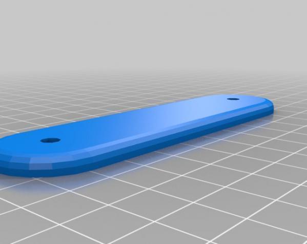 瑞士军刀钥匙架 3D模型  图3