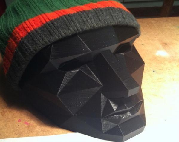 八字须 面具 3D模型  图4