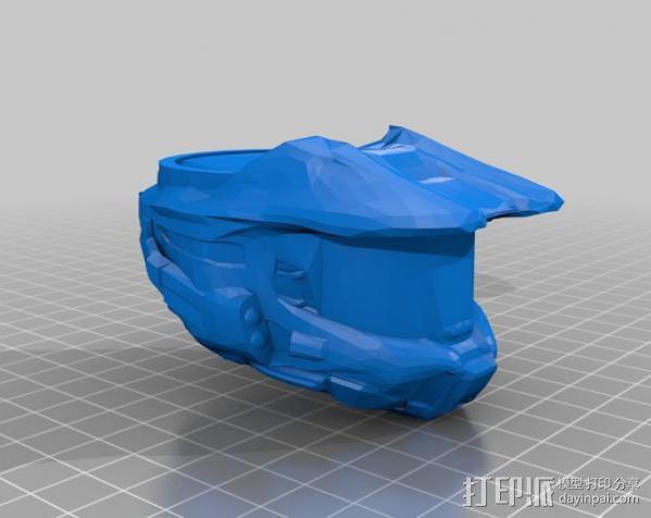 halo 指环 3D模型  图1