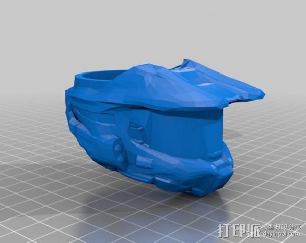 halo 指环 3D模型  图2