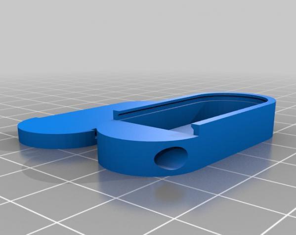 小药丸盒 3D模型  图2