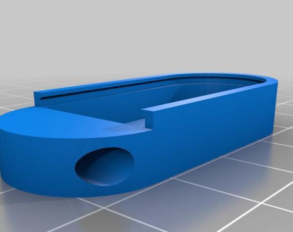 小药丸盒 3D模型  图3