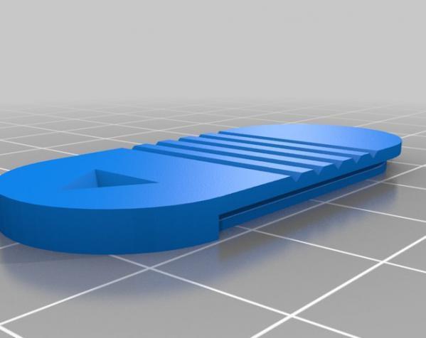 小药丸盒 3D模型  图4
