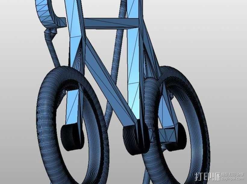 自行车 钥匙扣 3D模型  图11