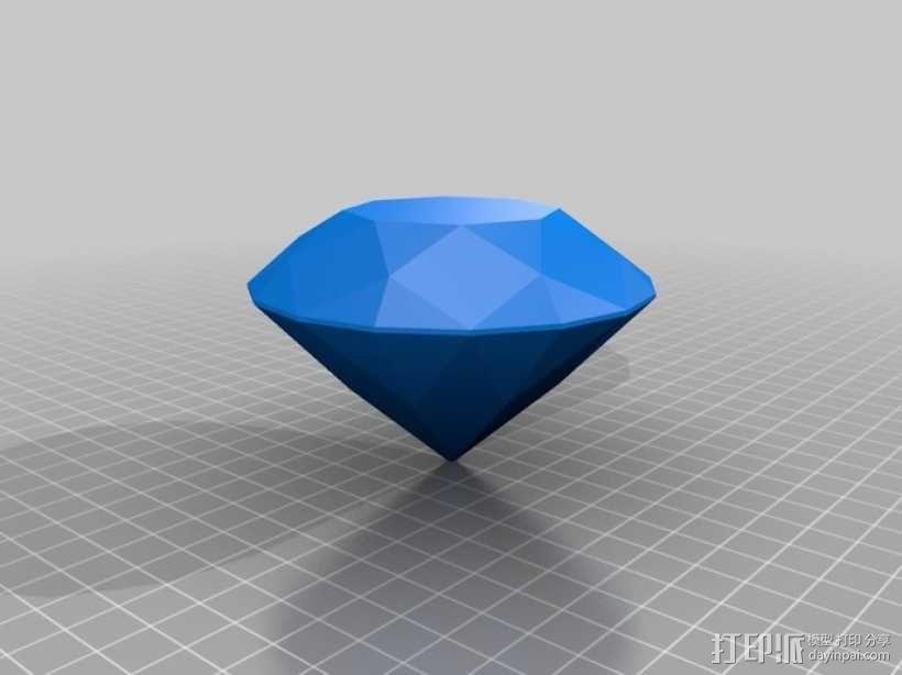 钻戒 指环 3D模型  图11
