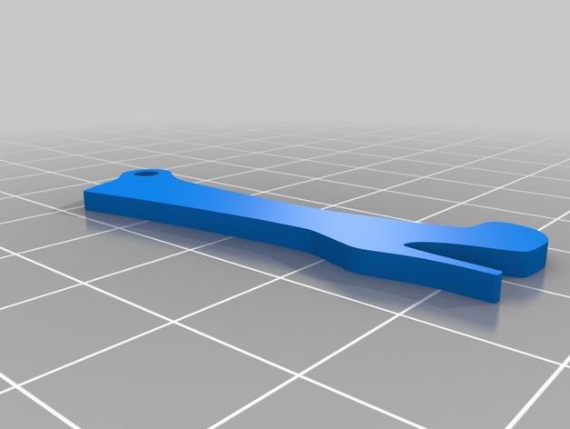 高跟靴钥匙扣 3D模型  图2