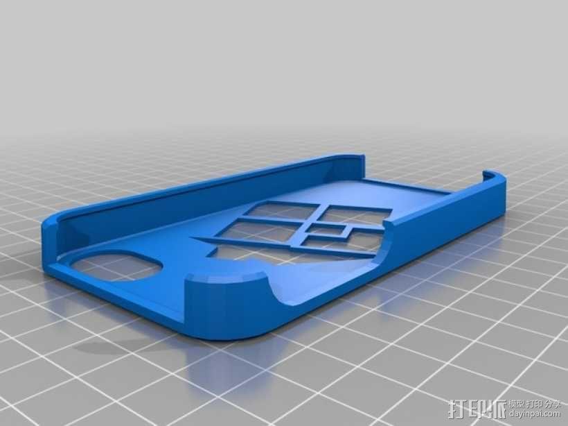 iphone4 手机套 3D模型  图1