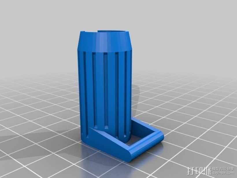 eGo挂带扣 系锁扣 3D模型  图3