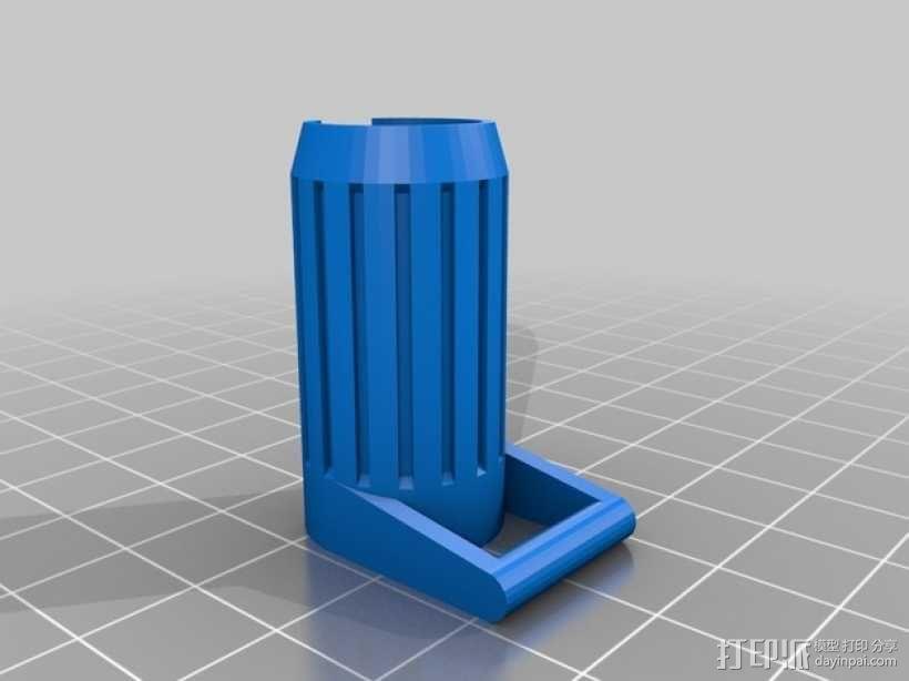 eGo挂带扣 系锁扣 3D模型  图6
