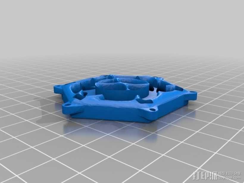 钻石粒子裙子 3D模型  图5