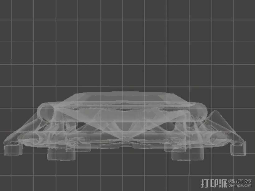 钻石粒子裙子 3D模型  图7