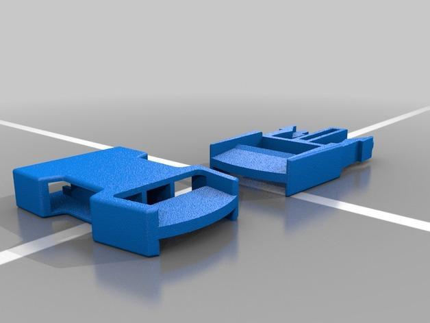 皮带扣 3D模型  图1