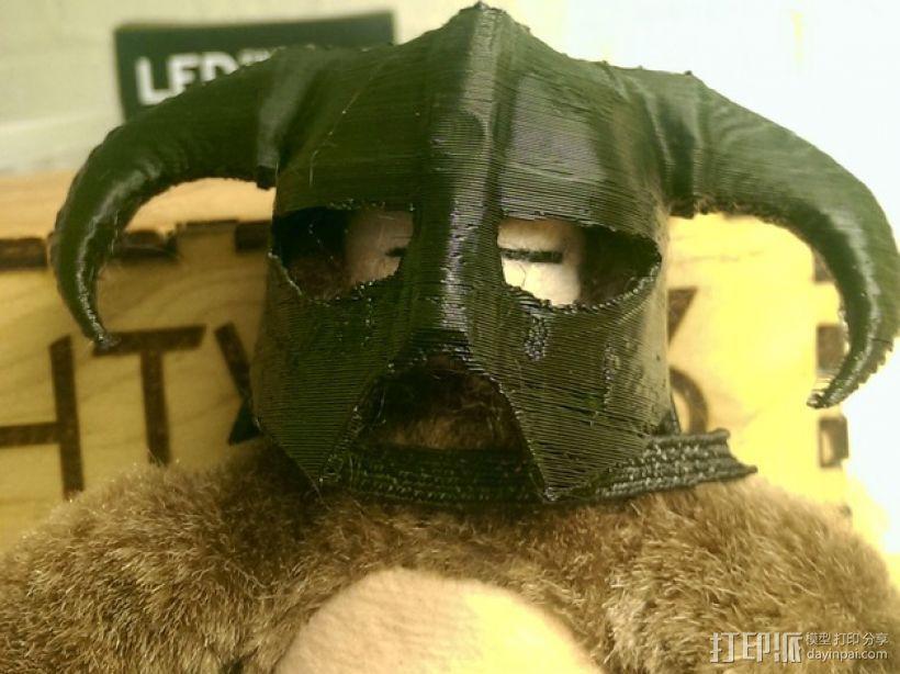 龙族头盔 3D模型  图1
