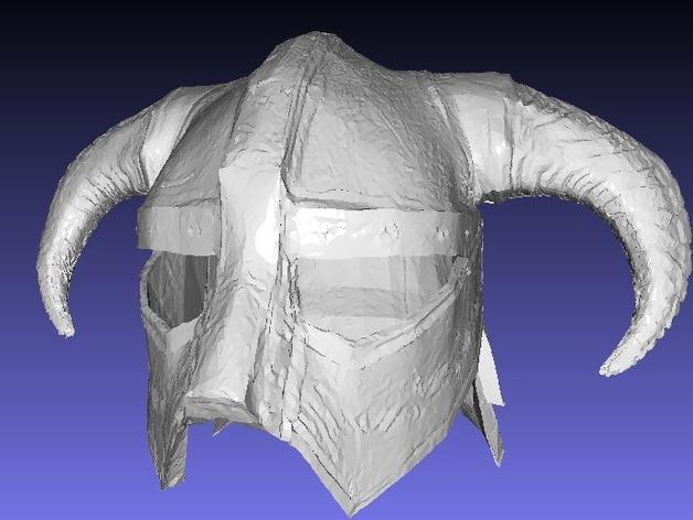 龙族头盔 3D模型  图5