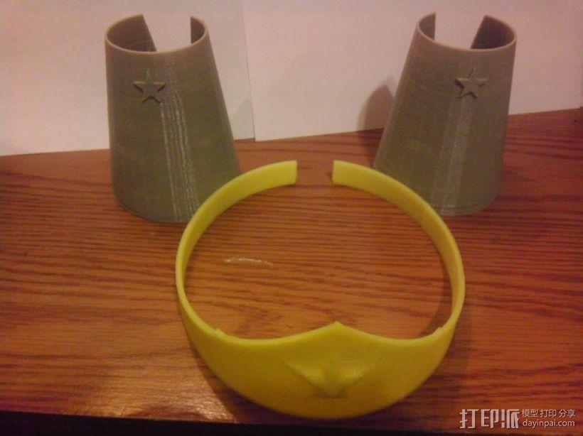 皇冠和手镯 3D模型  图1