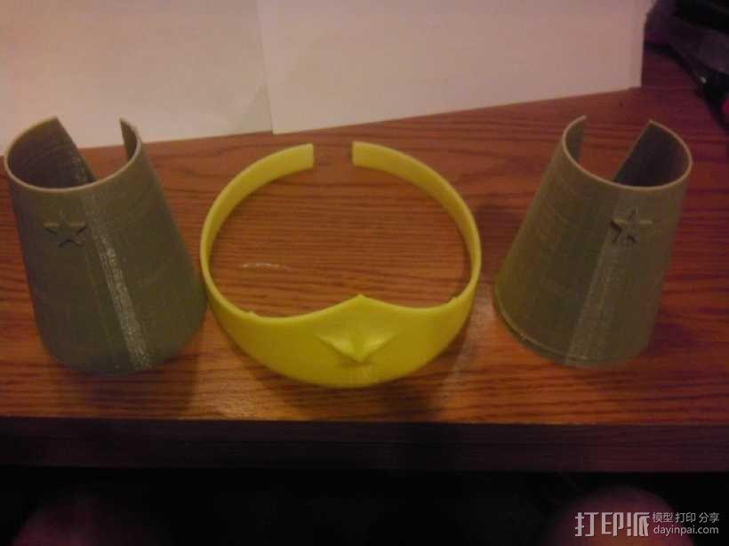 皇冠和手镯 3D模型  图3